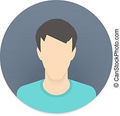 web, beweeglijk,  App, bouwterrein,  avatar,  Vector, gebruiker, Of, pictogram