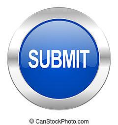web, blauwe , chroom, vrijstaand, pictogram, onderwerpen, cirkel