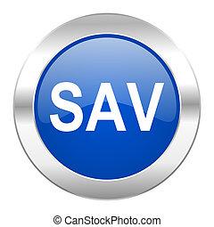 web, blauwe , chroom, vrijstaand, sav, pictogram, cirkel