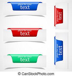 (web), bordo, adesivi, pagina