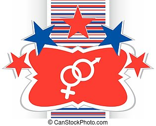 web, bottone, iwon, vettore, femmina, simbolo maschio