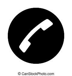 web, bottone, -, telefonata, msidiqf, icona