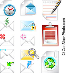 Web Business Letter Icon