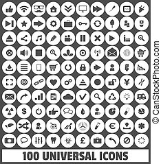 Web, Business, Social, Multimedia, Medical, Ecology Vector Icons Set 2
