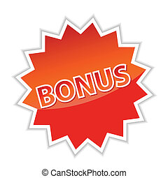 Web button bonus.Vector - New best web button bonus. Vector...