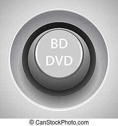 Web button gray