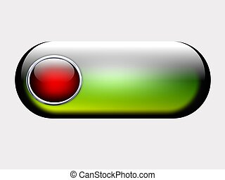 web button, illustration