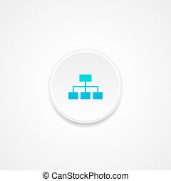 Web button. Vector illustration.