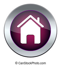 Web button with house