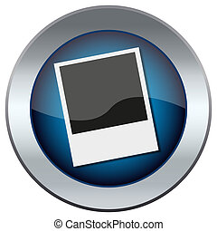 web button with photo