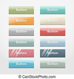Web buttons. Part I
