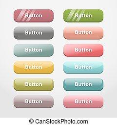 Web buttons. Part II