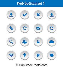 Web buttons set 1