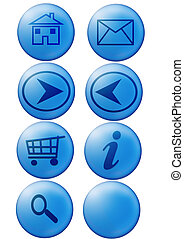 Web buttons - web buttons for internet navigation