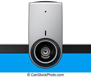 Web camera e-learning equipment