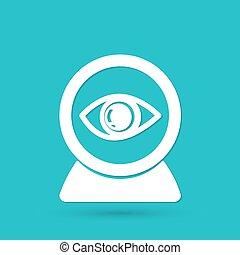 Web camera eye icon