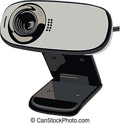 web-camera of computer