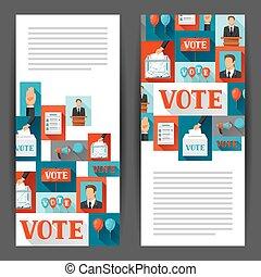 web, campagna, leaflets, sfondi, politico, elezioni, luoghi,...