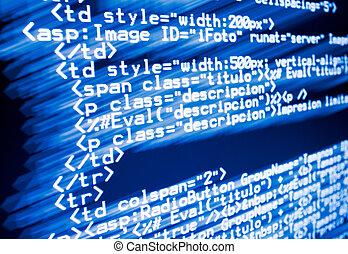 web, code