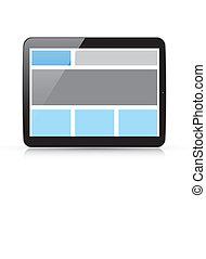 Web coding concept - responsive htm