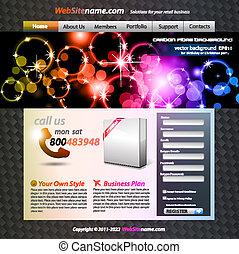 web, colorito, sviluppo, astratto, sagoma, elegante