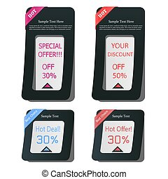 web, communie, verkoop, advertentie, design-discount, etiket, spandoek, best