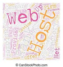 web, concept, tekst, gastheer, hoe, wordcloud, achtergrond, vinden