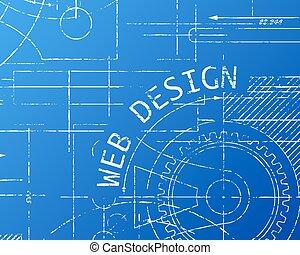Website design blueprint website design in hand drawn vectors web design blueprint machine malvernweather Image collections