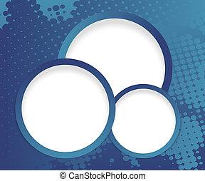 web design buttons on dark halftone