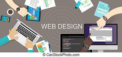 Web Design Content Creative Website Responsive