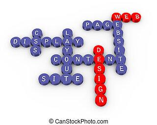 Web design crossword
