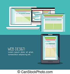 Web design development