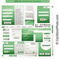 Web Design element Vector