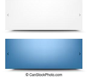 Web Design Frames With Gradient Mesh, Vector Illustration