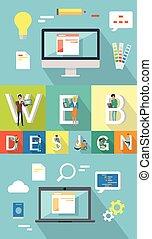 Web Design. Search Engine Optimization Concept