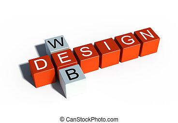 web design sign illustration