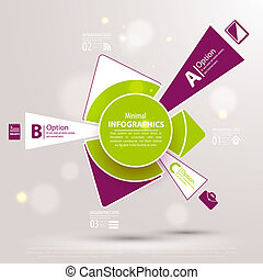 Web design template. Vector illustration for your business presentation.