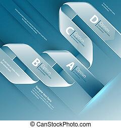 Web design template. Vector illustration use for business presentation.