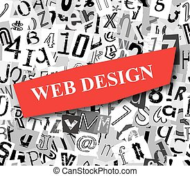 Web Design Torn Paper