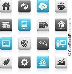 Web Developer Icons - Matte Series