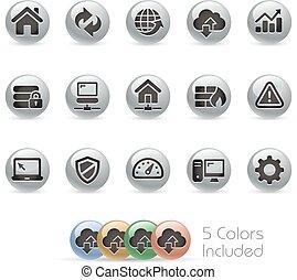 Web Developer Icons - MetalRound