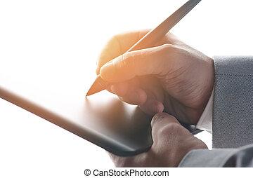 Web digital signature