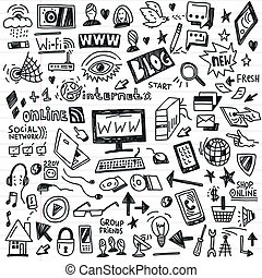 web doodles