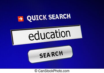 Web education