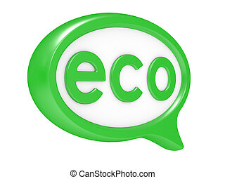 eco chat bubbles