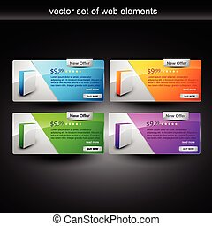web element - web products display for sale
