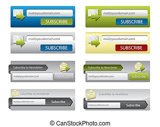 Web elements for websites