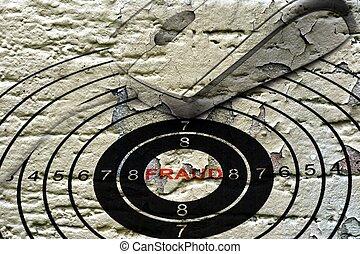 Web fraud concept