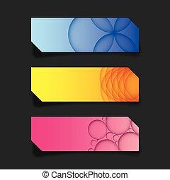 web, grafik, plan, banner, bunte, decke, kreativ, kopfsprung, vektor, schablone
