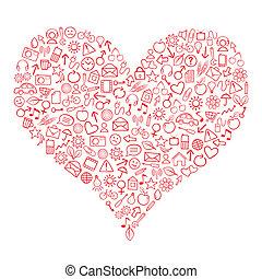 Web Heart
